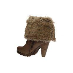 Śniegowce Casu  KOZAKI  11A-3879. Brązowe buty zimowe damskie marki Casu. Za 80,99 zł.