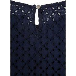 Polo Ralph Lauren Bluzka spring navy. Niebieskie bluzki dziewczęce bawełniane marki Adidas, z kontrastowym kołnierzykiem, z krótkim rękawem. W wyprzedaży za 209,30 zł.