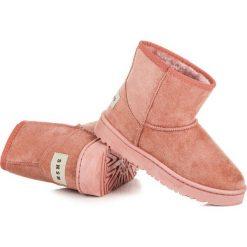 Buty zimowe damskie: Zamszowe śniegowce ANNE