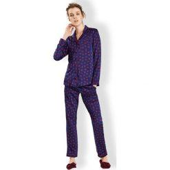 Piżamy damskie: Damska włoska piżama Elegance