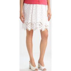 Spódniczki trapezowe: Slacks & Co. MATILDA Spódnica trapezowa white