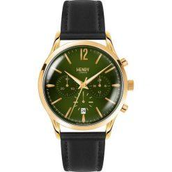 Zegarki męskie: Henry London Zegarek chronograficzny schwarz