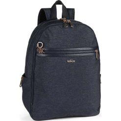 """Plecak """"Deeda"""" w kolorze granatowym - 32 x 42 x 16 cm. Niebieskie plecaki męskie Kipling, z tworzywa sztucznego. W wyprzedaży za 304,95 zł."""
