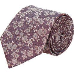 Krawat platinum czerwony classic 230. Czerwone krawaty męskie Recman. Za 49,00 zł.
