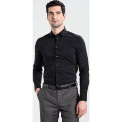 Koszule męskie na spinki: Sisley SLIM FIT Koszula biznesowa black