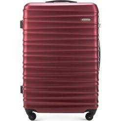 Walizka duża 56-3A-313-30. Czerwone walizki marki Wittchen, z gumy, duże. Za 199,00 zł.