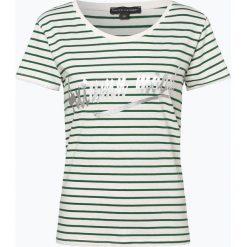 Franco Callegari - T-shirt damski, zielony. Zielone t-shirty damskie marki Franco Callegari, z napisami. Za 49,95 zł.