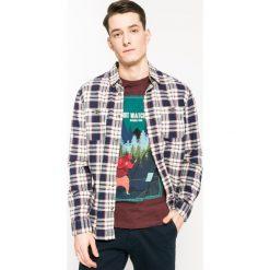 Medicine - Koszula Academic Scout. Szare koszule męskie na spinki marki MEDICINE, l, w kratkę, z bawełny, z klasycznym kołnierzykiem, z długim rękawem. W wyprzedaży za 79,90 zł.