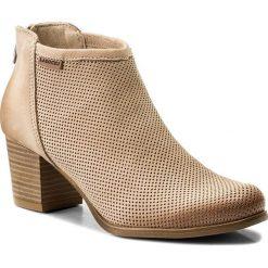 Botki LASOCKI - 70891-01 Beżowy 1. Brązowe buty zimowe damskie Lasocki, z materiału. W wyprzedaży za 199,99 zł.