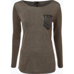 T-shirty damskie: Key Largo – Damska koszulka z długim rękawem – Emilia, zielony