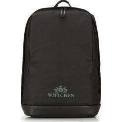 Plecak 87-3P-050-1. Czarne plecaki męskie Wittchen. Za 79,00 zł.