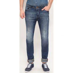 Spodnie męskie: SPODNIE DŁUGIE MĘSKIE RURKI, OBCISŁE