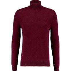 Swetry klasyczne męskie: FTC Cashmere Sweter red wine