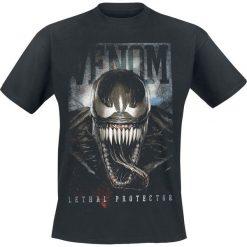 Venom (Marvel) Lethal Protector T-Shirt czarny. Czarne t-shirty męskie z nadrukiem Venom (Marvel), xl, z okrągłym kołnierzem. Za 74,90 zł.