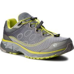 Buty JACK WOLFSKIN - Zenon Track Low W 4025611 Alloy. Szare buty do biegania damskie marki Jack Wolfskin, z materiału. W wyprzedaży za 329,00 zł.