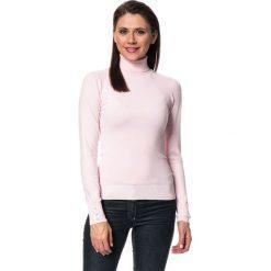 Golfy damskie: Sweter w kolorze jasnoróżowym