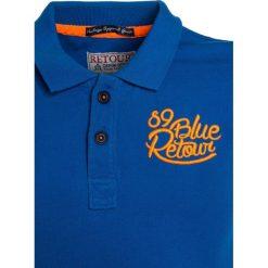 Retour Jeans LUCAS Koszulka polo blue. Białe bluzki dziewczęce bawełniane marki Retour Jeans. Za 129,00 zł.