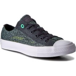 Tenisówki męskie: Trampki CONVERSE – Ctas II Ox 155733C Sharkskin/Green Glow/White