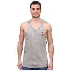 Brave Soul T-Shirt Męski Donal Xl Szary. Szare t-shirty męskie marki Brave Soul, m. W wyprzedaży za 32,00 zł.