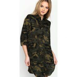Sukienki: Zielona-Moro Sukienka Army Dreamer