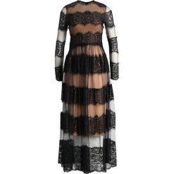 Forever Unique Sukienka koktajlowa nude/black. Czarne sukienki koktajlowe Forever Unique, z elastanu. Za 509,00 zł.