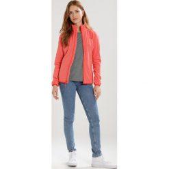 The North Face GLACIER  Kurtka z polaru desert flower. Różowe kurtki sportowe damskie marki The North Face, m, z nadrukiem, z bawełny. Za 299,00 zł.