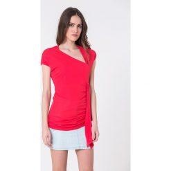 T-shirty damskie: T-shirt w kolorze różowym