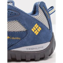 Columbia YOUTH REDMOND WATERPROOF Obuwie hikingowe steam/super solarize. Niebieskie buty skate męskie Columbia, z gumy, outdoorowe. W wyprzedaży za 161,40 zł.