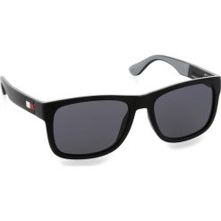 Okulary przeciwsłoneczne damskie aviatory: Okulary przeciwsłoneczne TOMMY HILFIGER – 1556/S Nero Grigi 08A