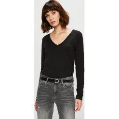 Trendyol - Bluzka. Czarne bluzki z odkrytymi ramionami Trendyol, l, z bawełny, casualowe. Za 49,90 zł.