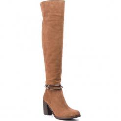 Muszkieterki SERGIO BARDI - Carugate FW127362818GM 837. Brązowe buty zimowe damskie Sergio Bardi, ze skóry, przed kolano, na wysokim obcasie, na obcasie. Za 429,00 zł.