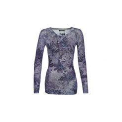 Swetry Desigual  GALAXY. Niebieskie swetry klasyczne damskie Desigual, l. Za 349,00 zł.