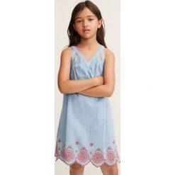 Sukienki dziewczęce z falbanami: Mango Kids – Sukienka dziecięca Arti 110-164 cm