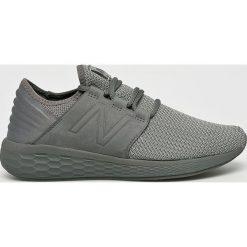 New Balance - Buty. Szare buty skate męskie New Balance, z gumy, na sznurówki. W wyprzedaży za 329,90 zł.