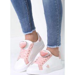 Białe Buty Sportowe Victim Of Love. Szare buty sportowe damskie marki other, z materiału. Za 79,99 zł.