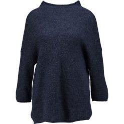Swetry klasyczne damskie: Soaked in Luxury FLORA JUMPER MA  Sweter midnight blue melange