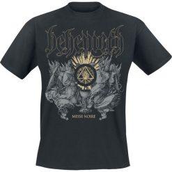 Behemoth Messe Noire T-Shirt czarny. Czarne t-shirty męskie z nadrukiem Behemoth, s, z okrągłym kołnierzem. Za 74,90 zł.