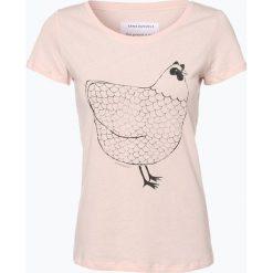 ARMEDANGELS - T-shirt damski, różowy. Czerwone t-shirty damskie ARMEDANGELS, xl, z nadrukiem, z bawełny. Za 129,95 zł.