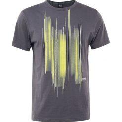 T-shirty męskie z nadrukiem: BOSS Green Tshirt z nadrukiem grey melange