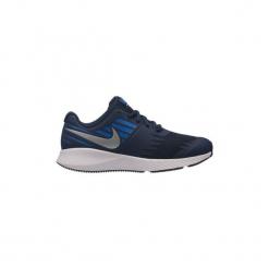 Buty Dziecko Nike  907254 Boys'  Star Runner. Niebieskie trampki chłopięce Nike, retro. Za 184,68 zł.