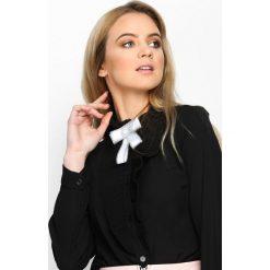 Czarna Bluzka French Frill. Niebieskie bluzki longsleeves marki ARTENGO, z elastanu, ze stójką. Za 49,99 zł.