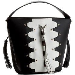 Torebka FURLA - Vittoria 870736 B BKG4 FR3 Onyx/Petalo. Czarne torebki worki Furla, ze skóry. W wyprzedaży za 889,00 zł.
