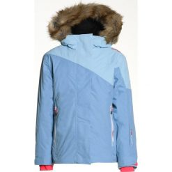 CMP FIX HOOD Kurtka hardshell clorophilla. Niebieskie kurtki chłopięce marki CMP, z hardshellu, outdoorowe. W wyprzedaży za 237,30 zł.