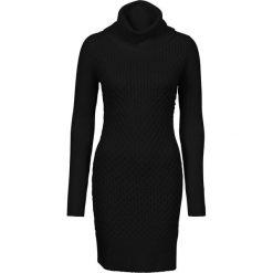 Sukienki hiszpanki: Sukienka dzianinowa bonprix czarny