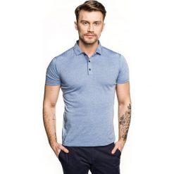 Koszulka polo escala niebieski. Czerwone koszulki polo marki Recman, m, z długim rękawem. Za 89,99 zł.