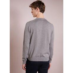 Kardigany męskie: BOSS CASUAL AMHUSOS Sweter grey melange