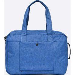 Herschel - Torba. Szare torby na laptopa marki Herschel, w paski, z materiału. W wyprzedaży za 219,90 zł.
