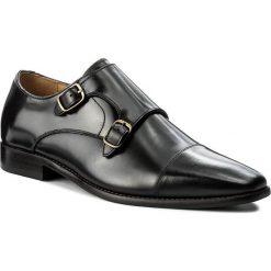 Półbuty ALDO - Zefirino 51878454 97. Czarne buty wizytowe męskie ALDO, z materiału. W wyprzedaży za 359,00 zł.