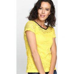 Bluzki, topy, tuniki: Żółta Bluzka Do Right Woman