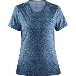 Bluzki asymetryczne: Craft Koszulka damska Mind SS Tee Granatowo-niebieska r. M  (1903942-1068)